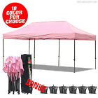 AbcCanopy 10x20 EZ Pop Up Canopy Tent Commercial instant Canopy w/ Roller Bag