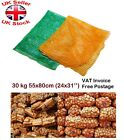 Net Woven Sacks Vegetables Logs Kindling Wood Log Mesh Bags 55x80cm Up to 30 kg