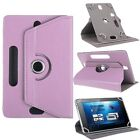 """Universal Android Tablet 10"""" 9"""" 8"""" 7"""" Adjustable PU Leather Stand Case Cover"""