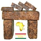 Raw African Black Soap 100% Pure Organic Ghana 2 oz. - 50 lb. Bulk Wholesale