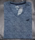 NWT HOLLISTER Men Must Have Slim Fit V Neck tag less T Shirt Tee By Abercrombie