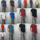 NWT HOLLISTER Men Must Have Slim Fit V Neck tag less T Shirt Tee By Abercrombie image