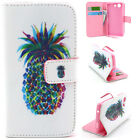 Pineapple Luxury Wallet Card Leather Case Cover For Samsung Sony Alcatel LG YH