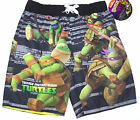 Nwt New Nick Teenage Mutant Ninja Turtles Turtle Swim Trunks Swimsuit Cute Boy