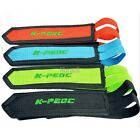 Cycling Pedals Band Feet Set Velcro Strap Beam Foot K-PEDC-014 4 Colors