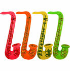 Inflatable Saxophone - Choose From 4 Colours - 75cm Blow Up Rock & Roll Party