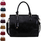Womens Handbags Ladies Shoulder Bags Faux Leather Fashion Designer Large New