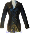 Women Basic Real Black Leather Coat Sz XS-3XL 12 Colors