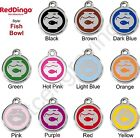 Red Dingo FISH BOWL Engraved Dog ID Pet Tag / Charm - Lifetime Guarantee