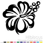 HIBISCUS FLOWER HAWAII ALOHA HAWAIIAN SORREL VINYL DECAL STICKER (HB-01)