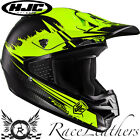 HJC CS-MX ZEALOT YELLOW ROAD LEGAL OFF ROAD MOTORCYCLE MOTORBIKE BIKE HELMET