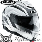 HJC IS-MAX 2 ELEMENT WHITE FLIP UP FRONT MOTORCYCLE MOTORBIKE TOURING HELMET