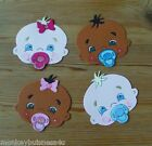 Baby Die Cuts - Baby Face & Hands - Baby Shower - Birth - Invitations - Cards