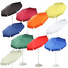 NEW 1.8m Various 1 Colour Patio / Garden / Pub / Promotional Parasol 180cm