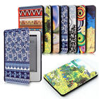 ART STYLE THIN PU LEATHER CASE COVER FOR KINDLE 7th Gen. (2014-15) / PAPERWHITE