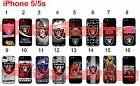 Oakland Raiders iPhone 5 5s Case Hard Silicone Case ##