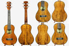 Alulu Solid Spalted & Curly  Mango Concert Ukulele Attractive Grain BU300-305