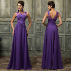 2015 CHEAP~Long Evening Gown Bridesmaid Dresses Prom Wedding Party Dress UK 6~20