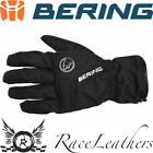 BERING ELEKTOR WATERPROOF THERMAL MOTORCYCLE MOTORBIKE BIKE GLOVES BLACK
