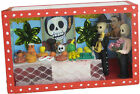Mexican Day of the Dead Wooden/Glass Nichos Boxes - FREE SHIPPING