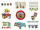 Paw Patrol Birthday Party Tableware 2015 Range Decoration Items