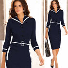 Ladies Womens Dresses Midi Party Bodycon Evening Pencil New UK PLUS SIZE Sheath