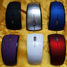 2.4GHz Wireless Arc Foldable Folding Mouse/Mice + USB 2.0 Receiver for PC Laptop