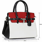Womens Handbags Leather Black Ladies Designer Bags Shoulder Satchel Tote Large