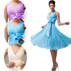 Women Vintage 1950s Bridesmaid Evening Party Formal Ball Gown Prom Dresses 4-24W