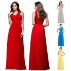 GRACE KARIN Red Long Evening Bridesmaid Prom Ball Gown Cocktail Party Grad Dress