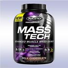 MUSCLETECH MASS TECH (7 LB) muscle whey protein weight gainer hard creatine bcaa