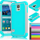 samsung s5 phone cover - Shockproof Hybrid Rubber Hard Protective Case Cover for Samsung Galaxy S5 i9600