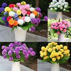 Artificial Small Chrysanthemum Daisy Silk Room Garden Flower Arrangement HS OU