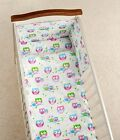 3 PIECES BABY NURSERY BEDDING SET,  BUMPER DUVET QUILT PILLOW cover  cot bed  NEW