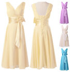 Vintage 50s New Formal Evening Ball Gown Party Prom Bridesmaid Short Dress PLUS