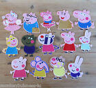 1 - Embroidered Iron on Patch - Peppa Pig & Friends - Kids -  Sewing - Applique