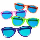 COMEDY PRACTICAL JOKE GIANT COLOURFUL SUNGLASSES CLOWN GLASSES GAG FANCY DRESS