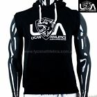 LYCAN OFFICIAL SLEEVELESS HOODIE - BODYBUILDING TOP GYM HOODIES WORKOUT JUMPER