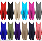 New Ladies Cami Lagenlook Romper Baggy Harem Jumpsuit Playsuit Dress Plus Size