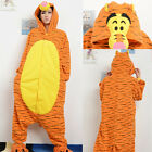 Adult Stereo Tigger Pajamas Sleep Suit Sleepwear Pajamas Halloween Unisex
