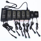 AC 100-240V To DC 12V 1A 2A 3A 5A 6A 8A 10A Adapter Power Supply For LED + Cord