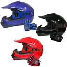Leopard X15 Junior Child Kids Motorbike Motocross MX Helmet + Goggles + Gloves