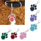 Fashion Pet Dogs Pendant Footprints Puppy Cat Rhinestone Necklave Gifts Подвески