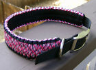 "18-22"" or custom size, Adjustable Paracord Dog Collar  ~Veteran Made~"