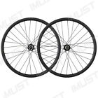 29er Carbon Clincher 25mm Deep Mountain Bike Wheelset Disc Brake 28/28 Holes
