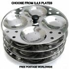 100% STAINLESS STEEL,IDLI MAKER,IDLI STAND,SOUTH INDIAN FOOD ,3/4/5 PIECE STAND