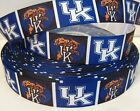 """GROSGRAIN UNIVERSITY OF KENTUCKY 7/8"""" INCH FOR HAIR BOWS DIY CRAFTS"""