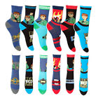 Boys Official Ben 10 1 Pair Assorted Socks Cotton Rich Various Sizes  Xmas Gift