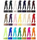 # 1 Pairs 80Den Solid Colours Pantyhose Hosiery Fullfoot Tights Ladies Girls