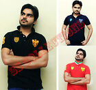 New Mens Polo Shirt Short Sleeve Top Designer Style Fit T-Shirt M,L,XL